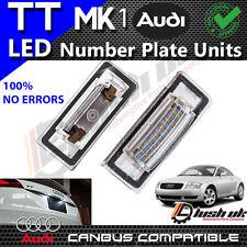 X2pc AUDI TT mk1 8n 1999-2006 LED Luce Targa Numero di licenza unità senza errori