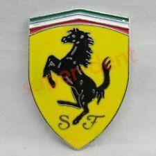 Auto Logo 3D Car Metal Converted Stickers Emblem Badge Decals SJ For Ferrari New