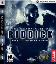Chronicles of Riddick: Assault on Dark Athena - Playstation 3 Game