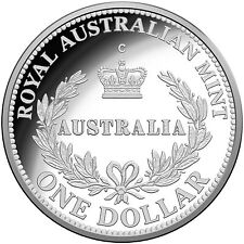 2016 Australia's First Mints $1 Fine Silver Proof Coin, 'C' mintmark , RAM