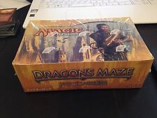 MTG BOITE SCELLEE 36 BOOSTERS DRAGON'S MAZE (JAPANESE LABYRINTHE DU DRAGON)