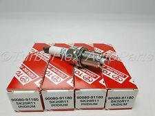 Toyota RAV4 4Cyl. 2.4L 2006-2008 Spark Plug Set of 4 Genuine OEM     90080-91180