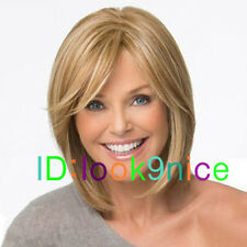 New sexy ladies short Brown Blonde Mixed Natural Hair wigs / Free Wig cap
