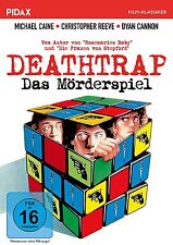 Deathrap - Das Mörderspiel * DVD Thriller Michael Caine Christopher Reeve Pidax