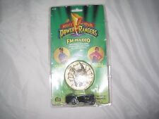 Vintage 1994 Mighty Morphin Power Rangers FM Radio Pendant Never Played with