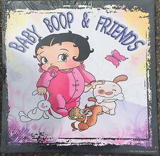 """BABY BETTY BOOP & FRIENDS 15 """"X 15"""" per Barella Cornice"""