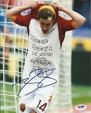 BOJAN KRKIC AUTOGRAPHED SPAIN WORLD CUP SOCCER PSA/DNA 8X10 PHOTO