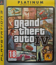 Grand Theft Auto IV Platinum Edition New Sealed for Sony PlayStation 3