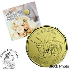 Canada 2017 Wedding Gift Coin Set with Special Loonie