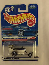 HOT SEAT 1998 First Editions - 1997 Hot Wheels Die Cast Car - Mint on Card