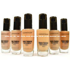 6 Full Kleancolor Super Natural Liquid Foundation LF1295 Moisture Boost SPF 15