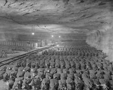 WWII RECOVERY OF ART AND GOLD FROM MERKERS MINE GERMANY 8X10 PHOTO MONUMENTS MEN