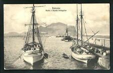 Palermo : Porto e Monte Pellegrino - viaggiata nel 1912