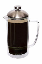 NEW SonPuro 34oz French Coffee Press Double Wall Insulated Glass, Microwave safe