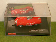CARRERA Evolution 25709 JAGUAR D-Type SCCA 1960 SLOT CAR