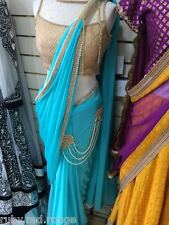 Actual pics listed- Indian Bollywood Designer READY TO WEAR PArty Saree Sari