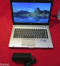 HP Elitebook 8460p 2.5GHz Quad Core i5-2520M Win10 64bit 4GB 320GB DVDRW USB3.0
