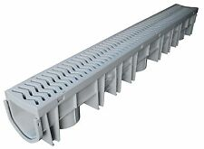 "Fernco FSDP-CHGG 39.5"" Storm Drain Plus In Ground Garage / Pool Drain Channel"