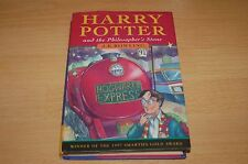 HARRY POTTER AND THE PHILOSOPHER'S STONE 1ST EDITION 2ND PRINTING FIRST BOOK HB