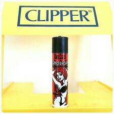 Clipper Lighters x4 Cool Rare Black & Red Amsterdam XXX Red Light Smoke Gift