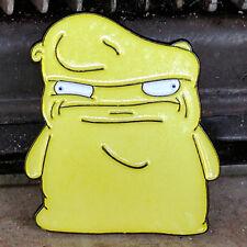 Melted Kuchi Kopi Enamel Lapel Pin Bob's Burgers Glow In The Dark