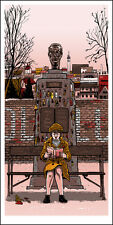 "GRAND BUDAPEST ""The Author"" silkscreen print by Tim Doyle Nakatomi Artist"