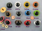 5 PAIR 24mm to 34mm Plastic Safety EYES Choose Size + Color, Puppet, Teddy PE-1