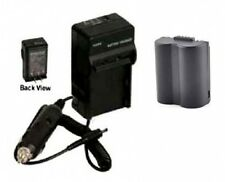 Battery + Charger For Panasonic DMC-FZ7S DMC-FZ7BB DMC-FZ7BS DMC-FZ7EBK FZ7EBS
