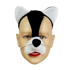 New Cat Kitten Face Mask Animal Fancy Dress Costume With Sound Effect FX P1596