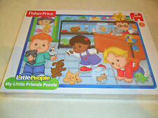 FISHER PRICE JUMBO LITTLE PEOPLE 20PIECE JIGSAW PUZZLE FRIENDS STOCKING FILLER