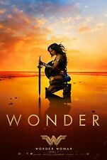 Wonder Woman Movie Poster (24x36) - Gal Gadot, Chris Pine v5
