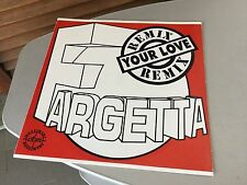 1993# VINTAGE SINGLE VINYL VINILE FARGETTA YOUR LOVE RMX REMIX