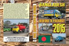 3031. Bangladesh Trucks.Feb 2015. Filmed in transport blockade, police and troop