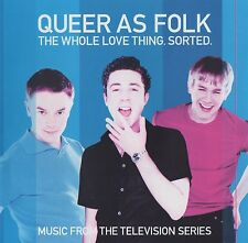 QUEER AS FOLK - MUSIC FROM THE TELEVISION SERIES - DOUBLE CD - GAY INTEREST