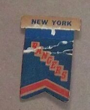 Eagle New York Rangers Banner / pennant  # 3 1959-1961 table hockey game