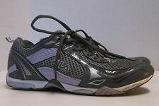 FILA WOMEN'S GRAY/PURPLE ATHLETIC SHOE SNEAKER, PERFORMANCE FOOTBED, US SIZE 7.5