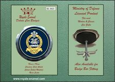 Royale Military Car Grill Badge - THE QUEEN'S REGIMENT OLD BADGE - B2.3623
