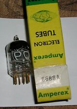 1 Vintage NOS Gold Pin Amperex PQ 6688A Tube