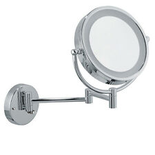 Infiniti Pro Wall-Mount Vanity Mirror 8.5 inch Chrome LED Cosmetic Makeup NIB