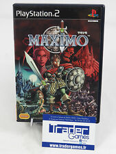 MAXIMO PS2 NTSC-JPN OCCASION COMPLETE USED