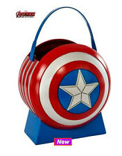 Avengers Captain America Favour Bucket Superhero Party Shield Comic Marvel Prop