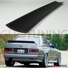Universal gurney flap lip addon racing drift trunk spoiler wing jdm ducktail evo