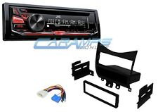 NEW JVC CAR STEREO RADIO DECK WITH COMPLETE INSTALLATION DASH KIT & WIRING