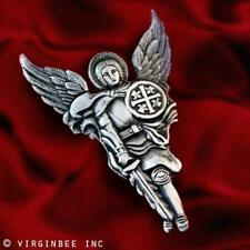 ST.MICHAEL ARCHANGEL GUARDIAN ANGEL SAINT CROSS SHIELD SWORD CHRISTIAN LAPEL PIN