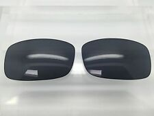 SPY Hielo Custom Made Sunglass Replacement Lenses Black/Grey Polarized NEW!!!