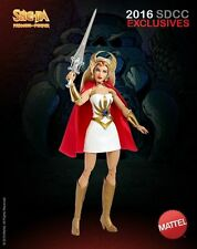 2016 SDCC COMIC CON EXCLUSIVE SHE-RA HE-MAN MASTERS OF THE UNIVERSE MOTU FIGURE!