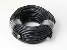 100 FT CAT6 26 AWG RJ45 UTP Network LAN Patch Ethernet Cable Snagless Cord Black