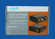 MAPLIN DIGITAL TO ANALOGUE AUDIO CONVERTER - A44QX - RRP =£39.99