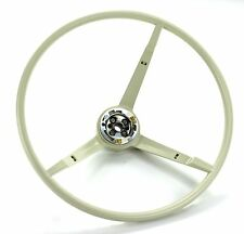 Mustang Steering Wheel Standard Colored 1965 - 1966 White - KSI