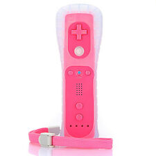 Rose Manette Wiimote Remote Controller + Housse Telecommande Pour Nintendo Wii